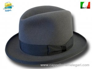 Cappello a lobbia homburg two pinch godfather hat