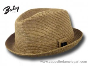 Bailey Cappello estivo Trilby Jazz Billy hat Cammello