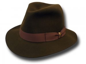 ad43db005ec Barbisio Fedora rollable Cigar hat  barbisio-cigar-marrone . 165.00 ...