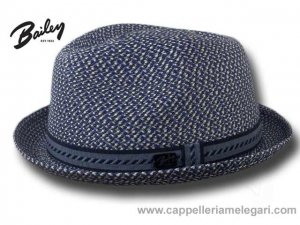 Bailey Mannes Trilby Jazz Hat Blue marine