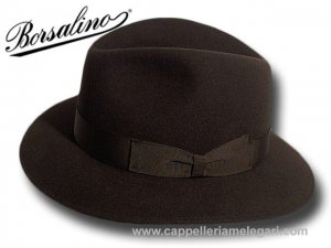 Borsalino Indiana Jones fedora hat unlined