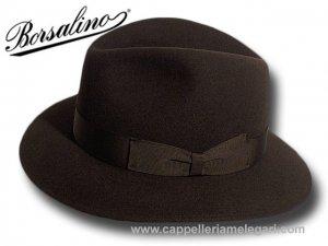 Borsalino Cappello fedora Indiana Jones sfoderato  4900210381 ... 16e402fd193c