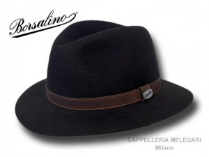 Borsalino Alessandria Safari Country Hat Black  390060-0420 . 199.20 ... 9aad58dfcc9