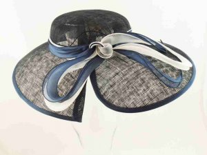 Melegari ceremony woman Hat Daria Blue
