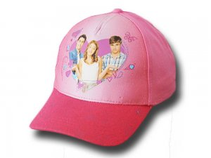 "Cotton baseball cap for girl ""Violet"""