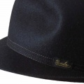 Borsalino Traveller hat rollable Black