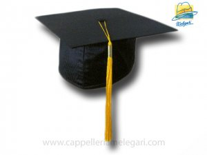 College Grad Hat Mortarboard Yellow