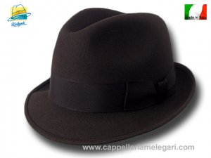 Melegari Trilby Blues Brothers Hut Braun