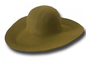 Hat body cone fur felt 120 gr
