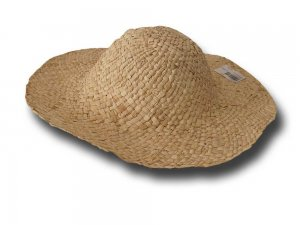 Straw hat body 10 cm