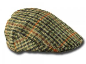 Berretto tweed Inglese Lawrence & Foster Garforth