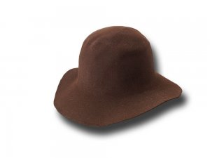 Hat body cone fur felt 90/100 gr.