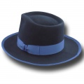 Cappello Fedora Johnny Depp Top Quality Blu