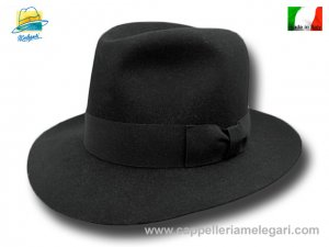 4d5f4cda80647 Melegari Fedora vintage Hat Lapin extra brim 6