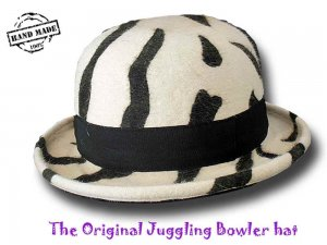 Melegari The Original Juggling Bowler Hat Hut Profi FUNKY 2