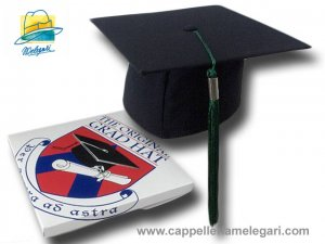 Cappello da laurea Tocco Graduation The Original Grad Hat
