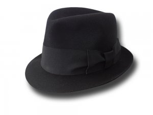 Melegari Trilby Blues Brothers hat high dome