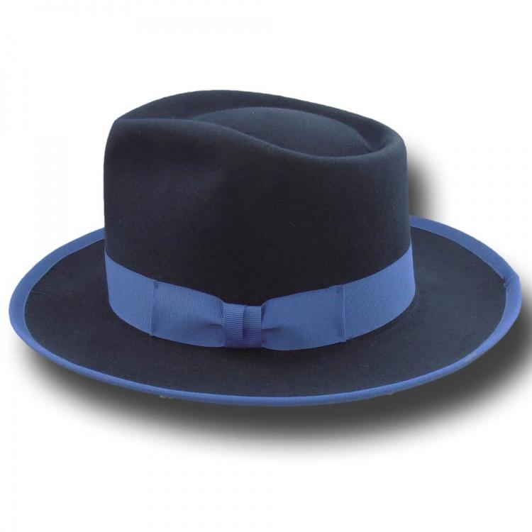 1363ffbd6c0c07 Fedora Johnny Depp Top Quality hat Blue [JohnnyDepp orlato blu ...