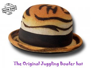 Bombetta giocoleria The Original Juggling Bowler Hat FUNKY 1