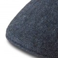 Lawrence & Foster Berretto Herringbone tweed Garforth Blu