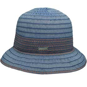 Seeberger Germany Cappello donna estivo cloche Lena