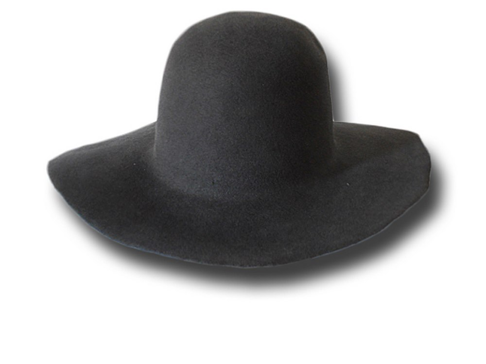 Pilgrim hat Melegari with brim 9 cm