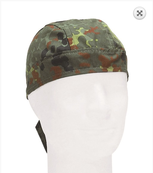 Head wrap camuflage jungle