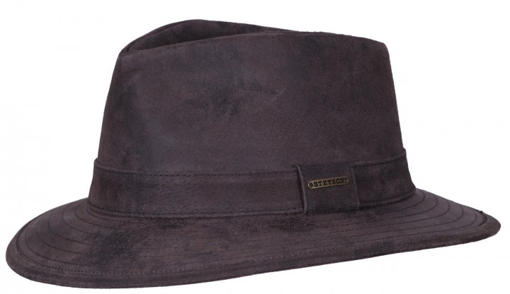 Stetson Chapeau Elkhart leather