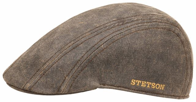 Stetson Earflaps Ivy Cap CO/PE Brown