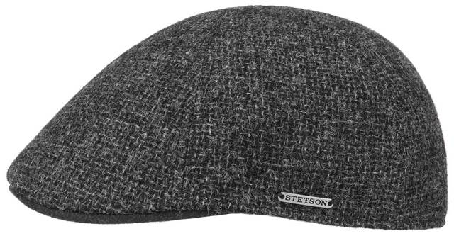 Stetson Classic Texas Wool cap Dark grey