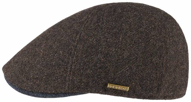 Stetson Texas wool/cashmere cap Melange Brown
