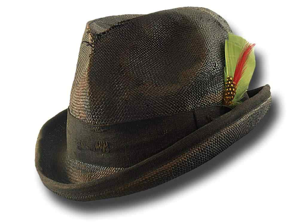 Summer straw Western Homburg Dusty Hat