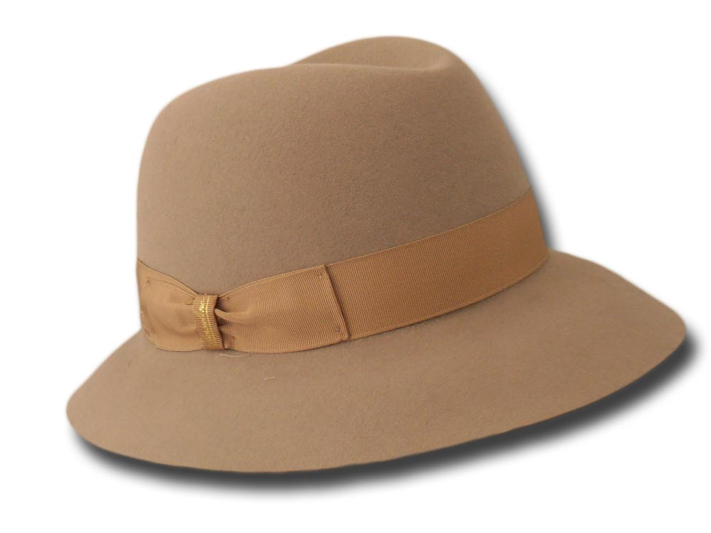 Borsalino woman hat Alessandria Light brown