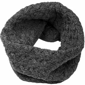Aran Merino wool Neck warmer