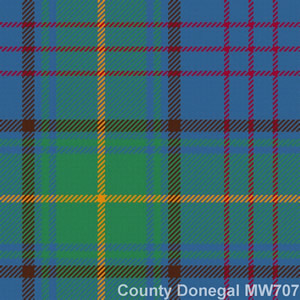 Wolle Krawatte Tartan Co Donegal