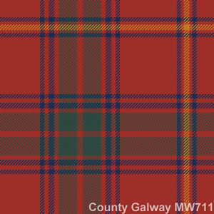 Cravate laine tartan County Galway