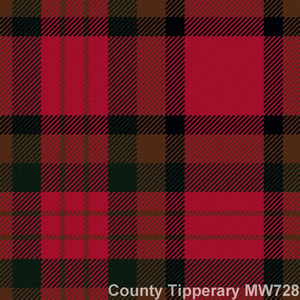 Cravate laine tartan Co Tipperary