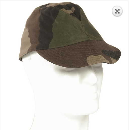French camouflage field cap
