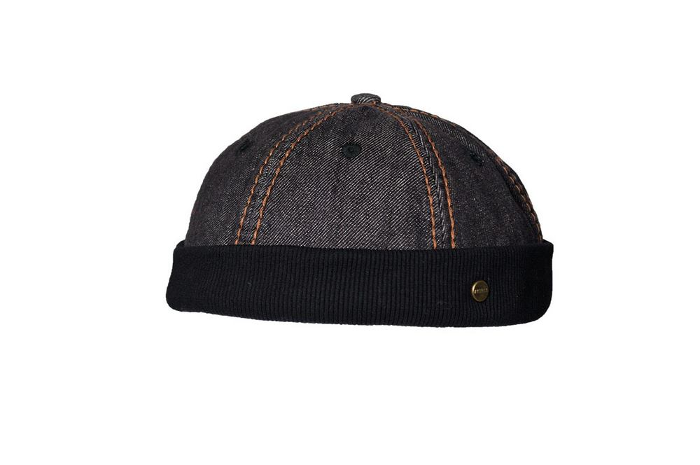 Cotton Dockers skullcap Lakota Black