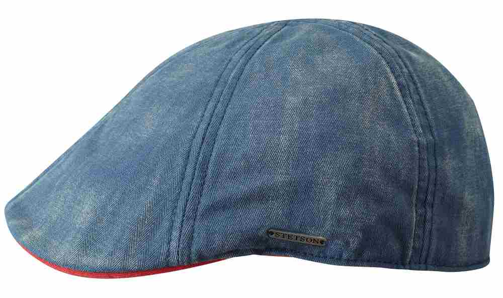 Stetson Berretto Texas in cotone washed Blu