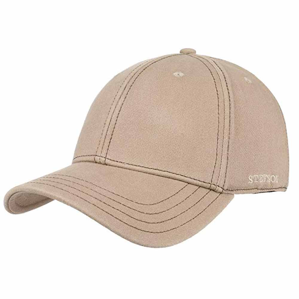 Stetson cotton baseball Flex cap Beige