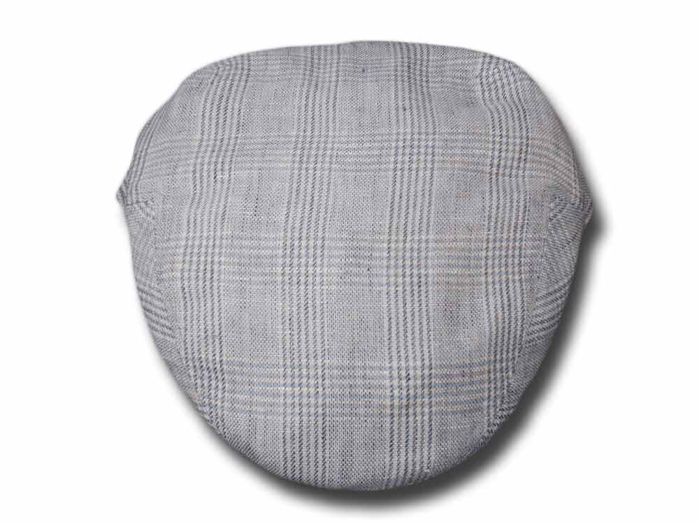 Melegari summer light linen blend flat cap Mil