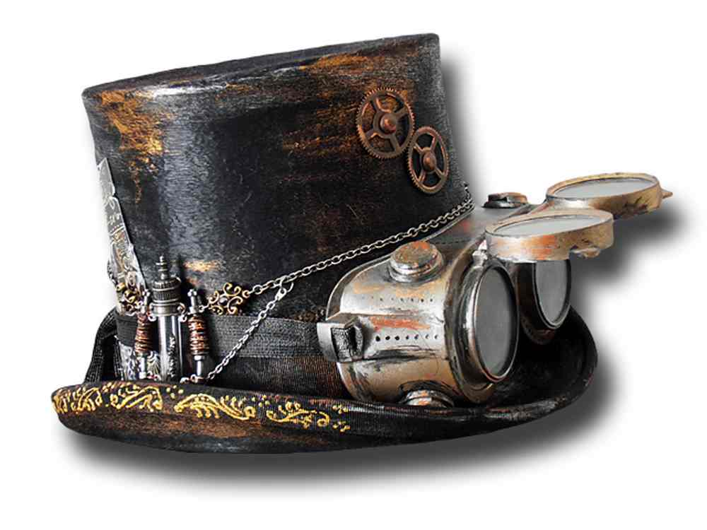 Andrea Bassani Customized handmade hat Steam P