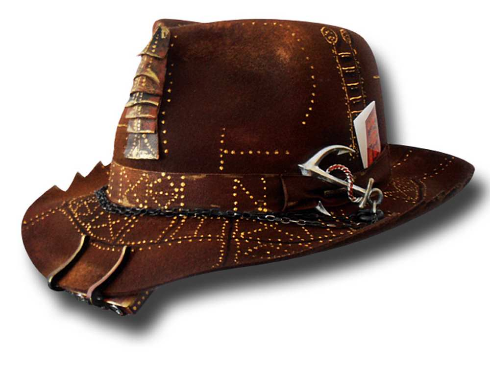 Andrea Bassani Customized handmade hat Nautilu