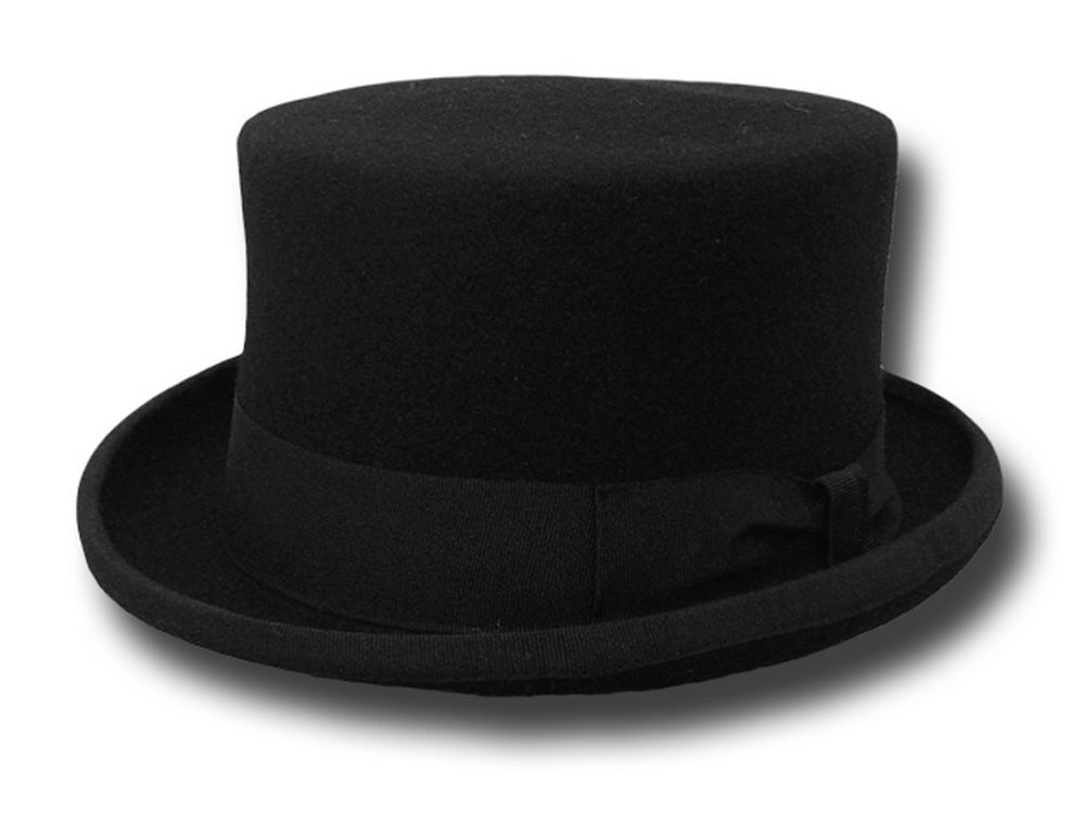 Half Top Hat black