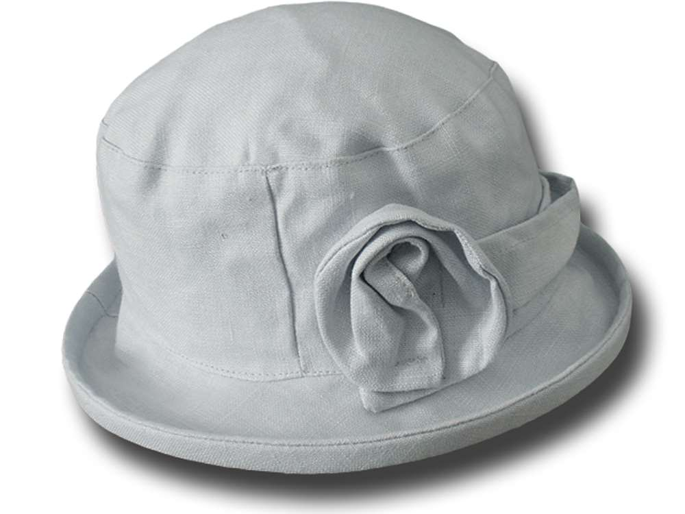 Hat woman summer pure linen Glenda