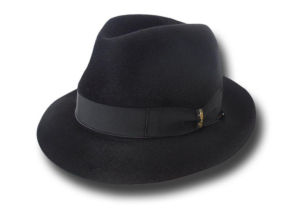 Borsalino Cappello Cervelt ala 5 cm con scatol 39e5a59f69a5