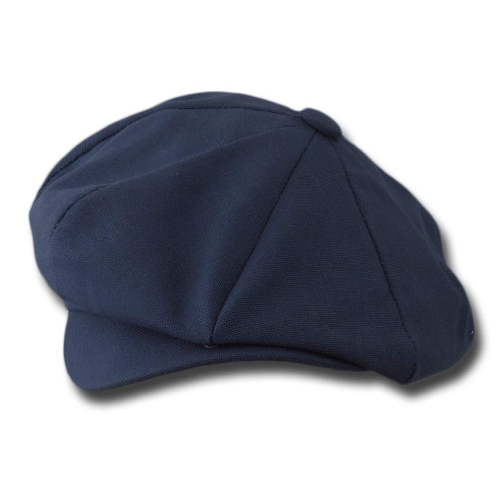 New York Hat Co. Newsboy Canvas Mütze Usa