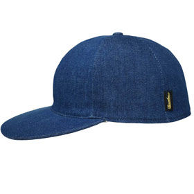 Borsalino Berretto Baseball cotone denim