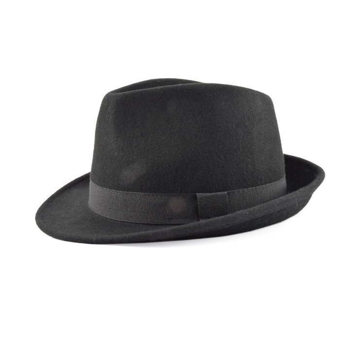 B2B Trilby Wool hat wholesale 01